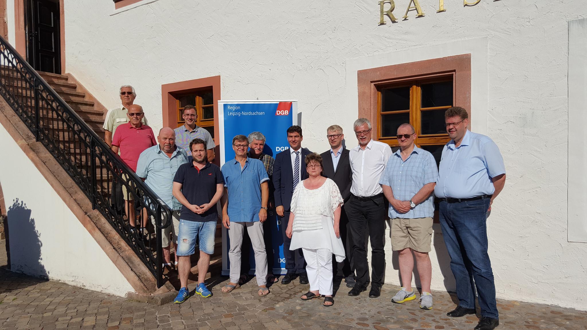 DGB Kreisverband + Gäste