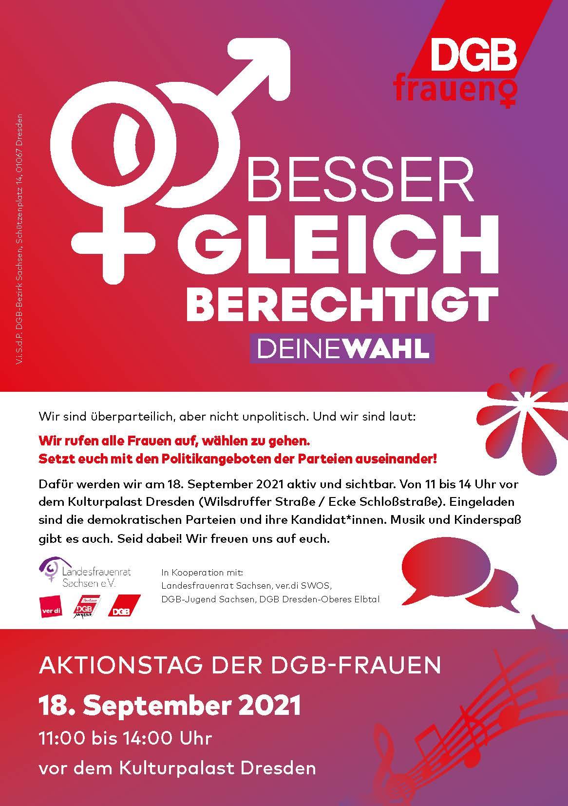 Ablauf Aktionstag Frauen