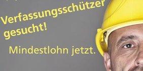 Teaser Verfassungsschützer gesucht - Mindestlohn jetzt