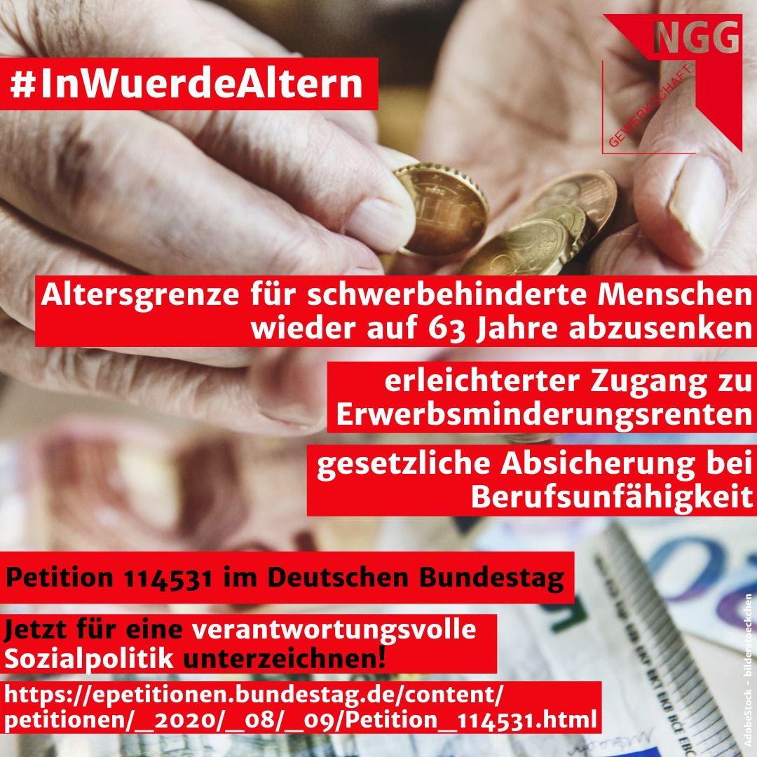 Traser-Bild zur Bundestagspetition