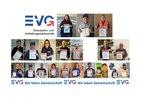 DIE EVG Leipzig mit einer Aktion #SolidarischNichtAlleine zum 1. Mai 2020