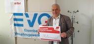EVG Aktion zum 1. Mai 2020 #SolidarischNichtAlleine